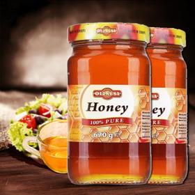 保加利亚 欧利美食 百花蜂蜜670g