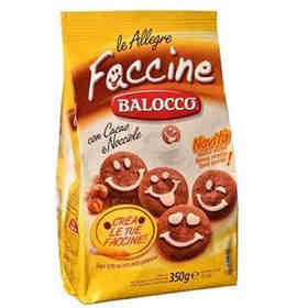 意大利进口 Balocco 百乐可 巧克力笑脸饼干350g