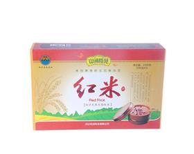 【南海网微商城】白沙农产品直销山涧稻苑红米500克*3