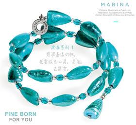 MARINA 1,TURQUOISE GREEN 滨海系列1 绿松石手链