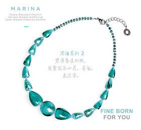 MARINA 2,TURQUOISE GREEN 滨海系列2 绿松石项链