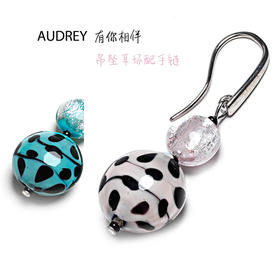 Audrey 奥黛丽吊坠耳环