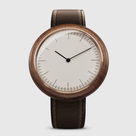 MMT 高雅工业风瑞士机芯无表冠腕表|胡桃木限量4款(法国)