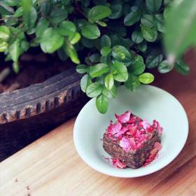 糖的秘密 纯手工 零添加 手工古法黑糖玫瑰/老姜/金桂/红枣 500g*2盒