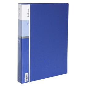 得力办公 40页资料册 A4活页文件夹 资料夹插页袋夹