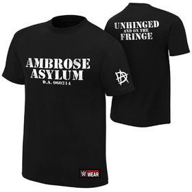 WWE正品 迪恩·安布罗斯Dean Unhinged 短袖T恤