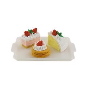 【日本】iwako岩泽 蛋糕 趣味橡皮擦