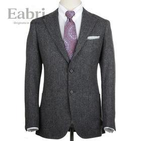 Eabri西服Harris Tweed粗花呢外套 男商务正装休闲夹克修身上衣