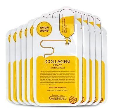韩国可莱丝 Collagen胶原蛋白弹力面膜10片\/盒