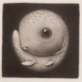 【版画】Renee French(美)|The Freckled Menzies(长雀斑的孟席斯)
