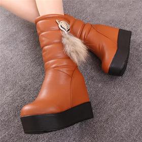 【 百顺】女鞋雪地靴  YG999