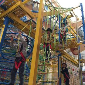 奇乐岛小勇士探险乐园,四个项目通玩