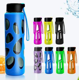 3折【UNIBOTT优道运动水瓶】 Tritan新型安全材质 塑料杯 便携防滑
