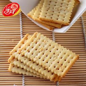 美丹白苏打无糖饼干118g芝麻/鲜葱无蔗糖饼
