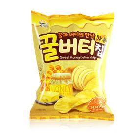韩国进口九日蜂蜜黄油薯片60g土豪薯片