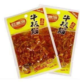 吉林桂青源上品牛板筋香辣味牛筋韩国朝鲜风味