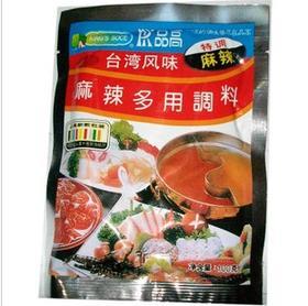 台湾风味品高麻辣多用火锅调料酱