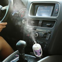 【为思礼 Nanum】智能车载空气净化器 加湿器 香薰机 迷你雾化器 创意车载礼物