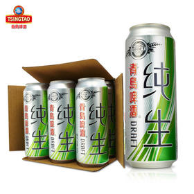 青岛啤酒 纯生500m