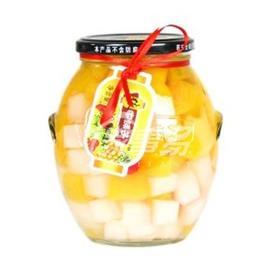 林家铺子山楂  黄桃罐头800g