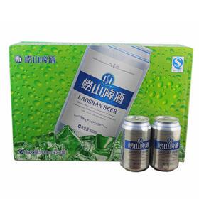 青岛啤酒 10度崂山啤酒330ml