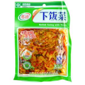 惠通下饭菜    开胃爽口菜  香辣三丝咸菜酱腌菜102克