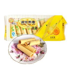 米老头波纹煎卷蛋卷108g/袋装 休闲零食品小吃脆卷