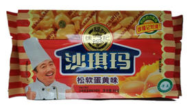 徐福记沙琪玛蛋黄味/芝麻味80G