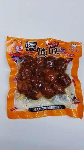 廖大哥爆辣族劲脆肠130g袋装零食 廖大哥食品脆肠火腿肠