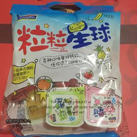 亲亲水果冻粒粒星球360g  办公室休闲小零食 (10粒装)