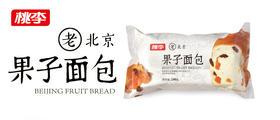 桃李老北京果子面包 办公室休闲食品 早餐面包糕点 240g