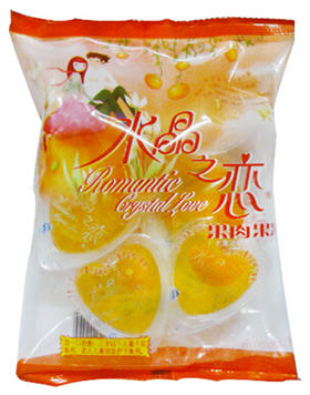 喜之郎 水晶之恋 蜜桔 果肉果冻 245g