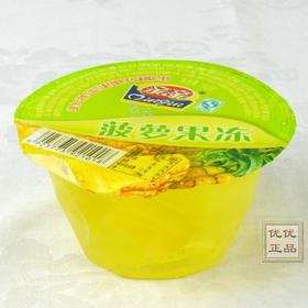 亲亲果肉果冻160g杯装菠萝味/桔子