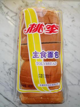 桃李主食面包450g装切片软式面包西点糕点点心休闲零食5