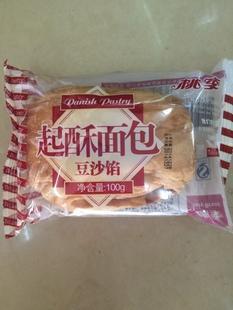 桃李起酥面包 豆沙馅 100克糕点 早餐面包