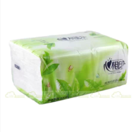 恒安心相印抽纸  茶语系列456张软包面巾纸dt3200