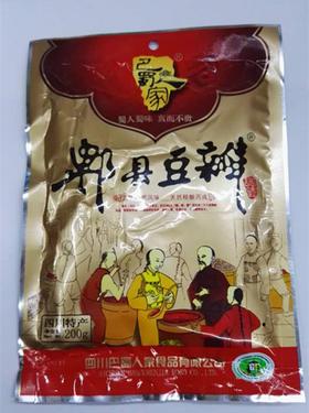 巴蜀人家  郫县豆瓣酱 200g