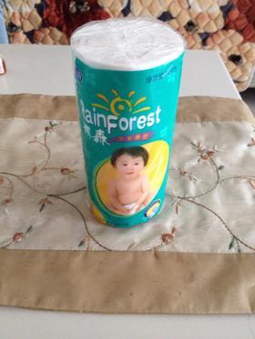 雨森纸 原浆纸巾厕纸卷筒纸木浆三层无芯妇婴纸巾卫生纸