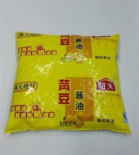 海天珍鲜 黄豆酱油 酿造酱油 310ml
