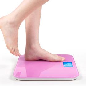 【乐心厂家自营】智能电子秤精准称重人体秤体重计健康秤 A3
