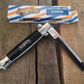 Suavecito高级折叠不锈钢梳子(美国)