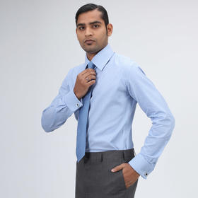 Eabri男士条纹系列英式/法式衬衫