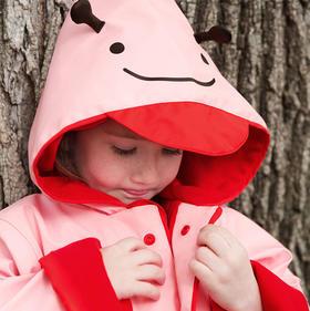 Skip Hop zoo 可爱动物园小童雨衣