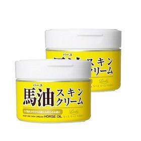日本Loshi北海道马油面霜220g/盒*2孕妇小孩可用