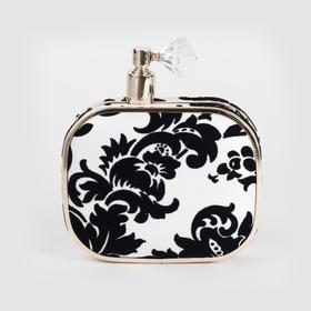 Min Bag 施华洛世奇水晶香水瓶手拿包 | 黑白绒面(加拿大)