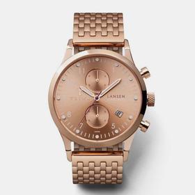 Triwa 脆娃骚气逼人腕表|玫瑰金钢表带气质款(瑞典)