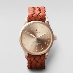 Triwa 脆娃骚气逼人腕表|玫瑰金编织表带款(瑞典)