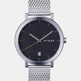 Hygge 北欧简约风格精钢腕表|带日历(丹麦)