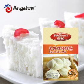 安琪百钻米发糕预拌粉 原味米发糕308gX3