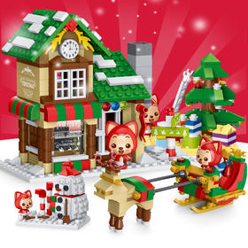 阿狸星钻积木-圣诞-12月22日发货